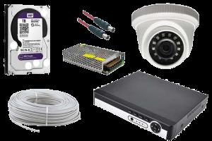 2 MP Dome AHD Güvenlik Kamerası Paketi