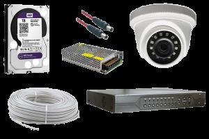 2 MP Dome AHD Güvenlik Kamerası Paketi 2