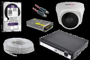 5 MP Dome AHD Güvenlik Kamerası Paketi