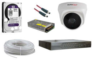 5 MP Dome AHD Güvenlik Kamerası Paketi 2