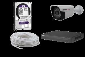 2 MP Bullet IP Güvenlik Kamerası Paketi