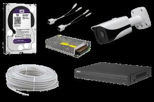4 MP Bullet IP Güvenlik Kamerası Paketi