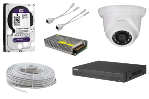 4 MP Dome IP Güvenlik Kamerası Paketi
